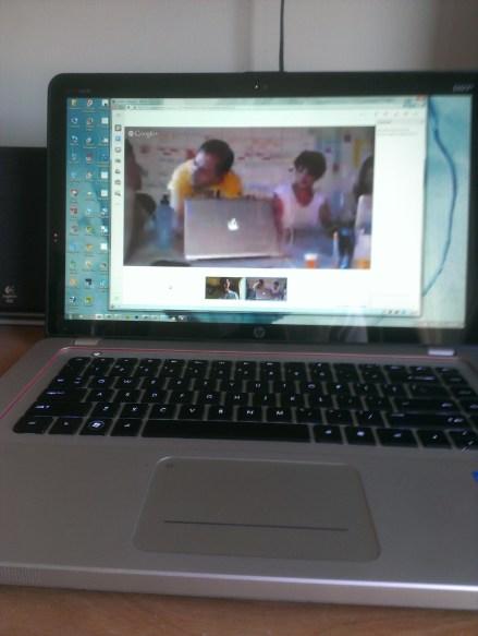 preparing a Google Hangout Innovation Workshop