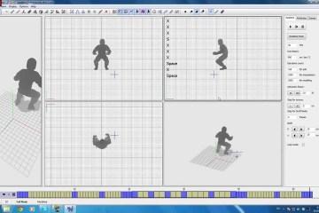 Cascadeur: Inhouse Animation Tool For Fluid Parkour Game Vector