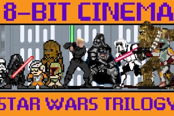 8-Bit Cinema: Movies Retold As Old-School Games