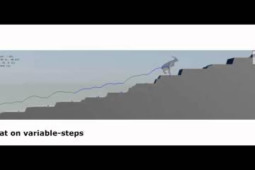 Terrain-Adaptive Locomotion Skills Using Deep Reinforcement Learning
