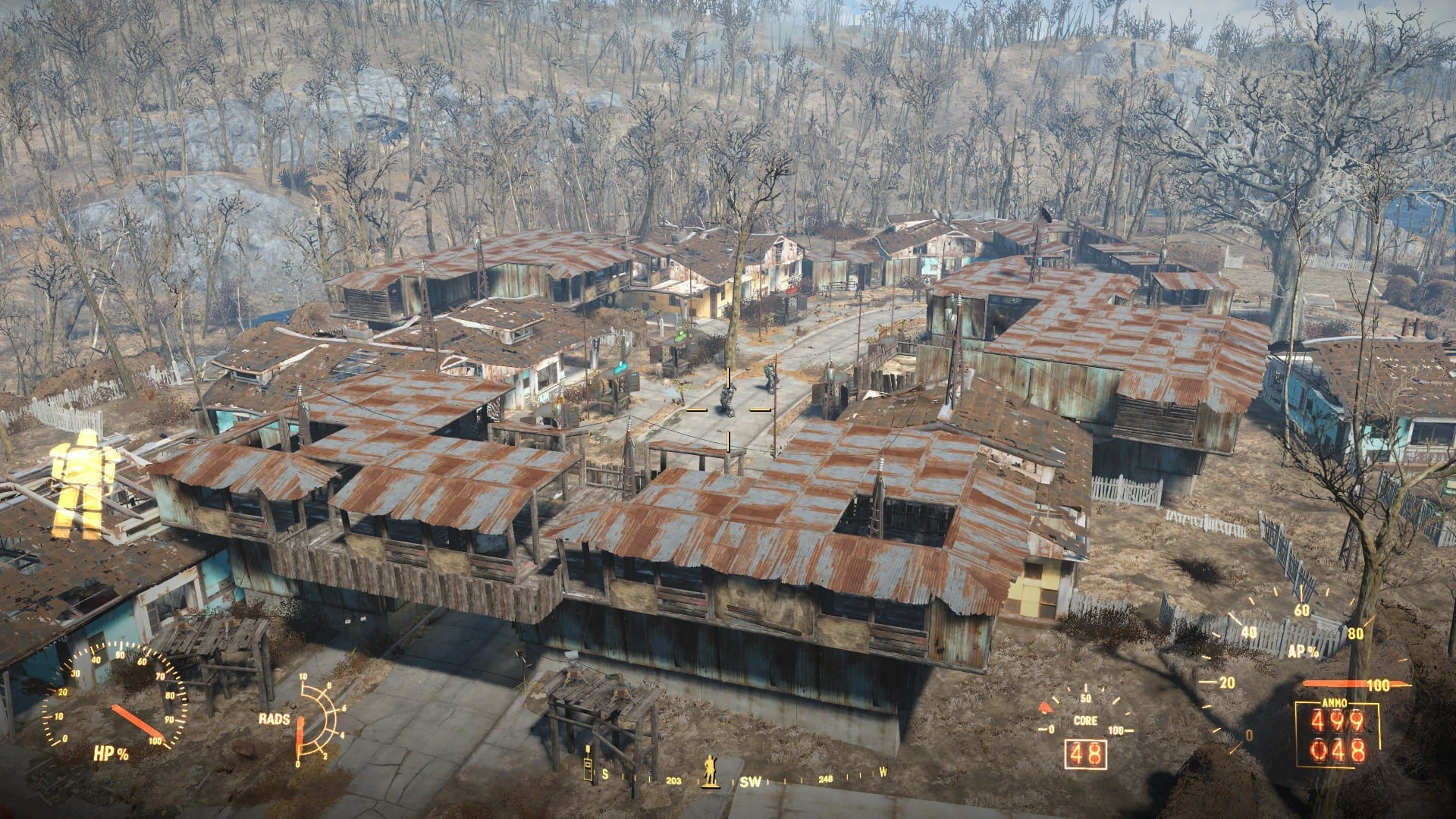 Hilarious Shanty Town By Jarvvski Most Fallout Settlements Ever Made Gamebyte Fallout 4 Diamond City House Ideas Fallout 4 Sanctuary House Ideas curbed Fallout 4 House Ideas