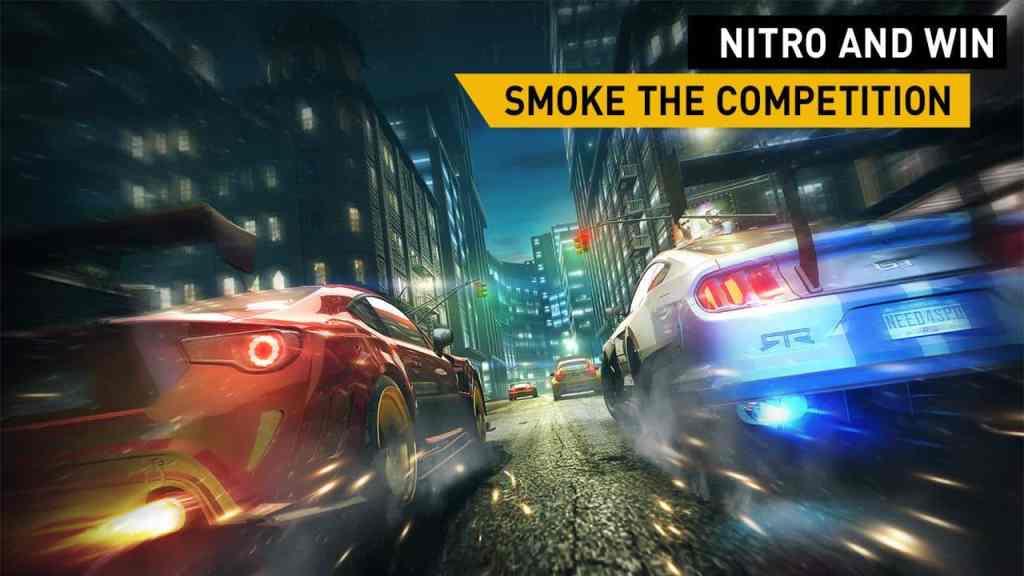 Need For Speed No Limits nitro