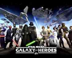 Star Wars Galaxy of Heroes cheats tips