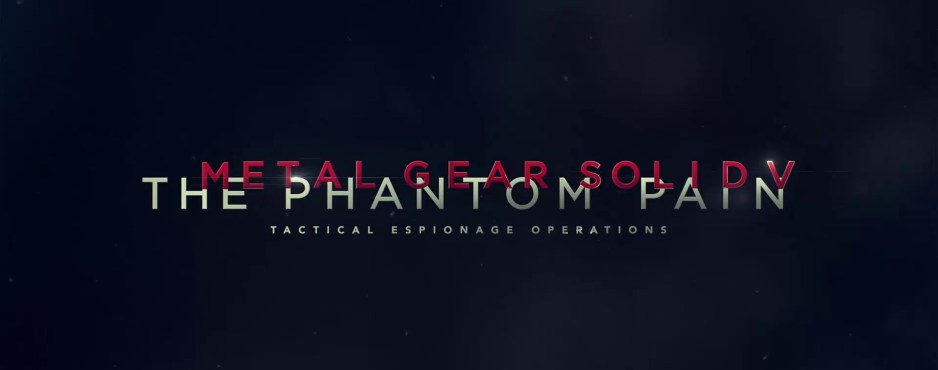 metal gear v phantom pain logo