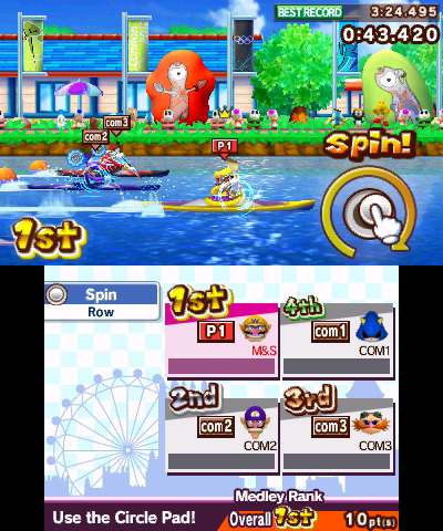 Imagenes de Mario & Sonic at the London 2012 Olympic Games de Nintendo 3DS