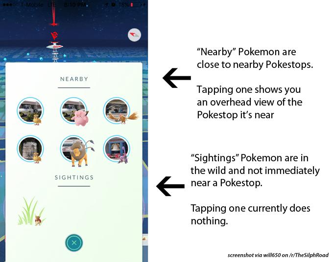 Pokémon GO si aggiorna introducendo qualche piccola novità