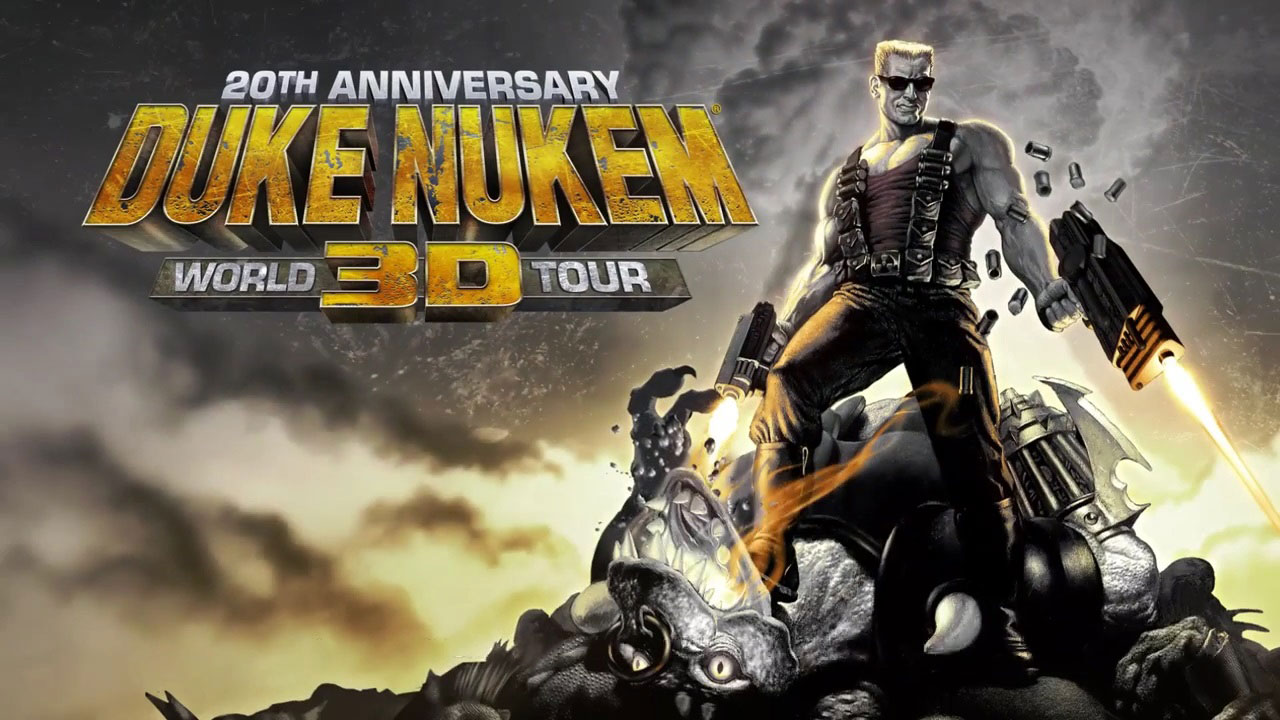 Annunciato Duke Nukem 3D: 20th Anniversary World Tour