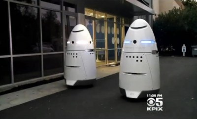 Silicon Valley Now Armed With Robotic Security Guards