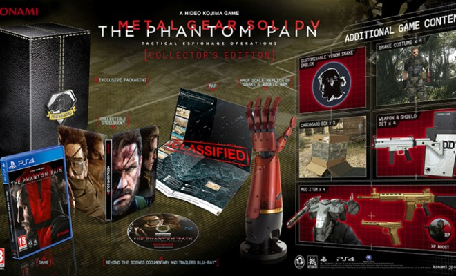 Metal Gear Solid V: The Phantom Pain Special Editions Revealed