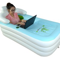 Bathe Anywhere With The Inflatable Bathtub