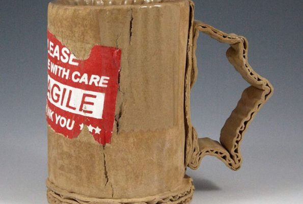 Cardboard Mugs
