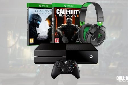 xbox one bundle halo 5 black ops 3 headset deal