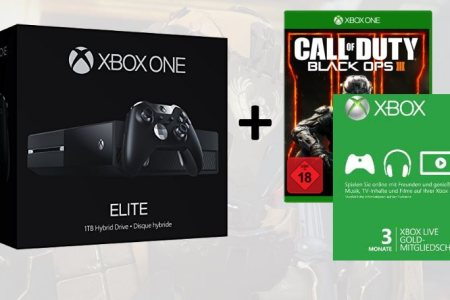 xbox one elite bundle inkl. black ops 3 deal