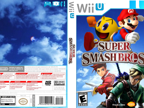 Super Smash Bros Wii U Box