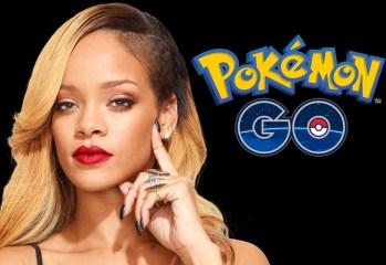 Rihanna vs Pokémon Go
