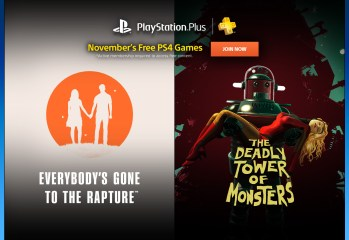 PlayStation Plus - Noviembre