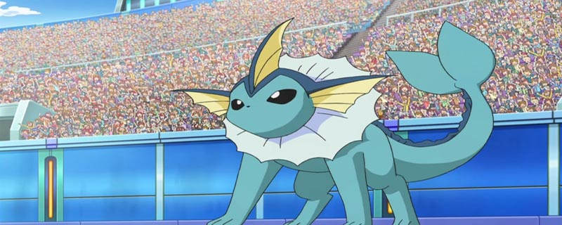 When and what level does the pokemon vaporeon learn moves