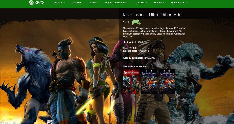 Killer Instinct Xbox One-GAMERSRD