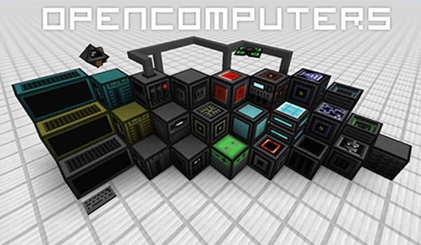 OpenComputers Mod para Minecraft 1.8 y 1.8.8-gamersrd