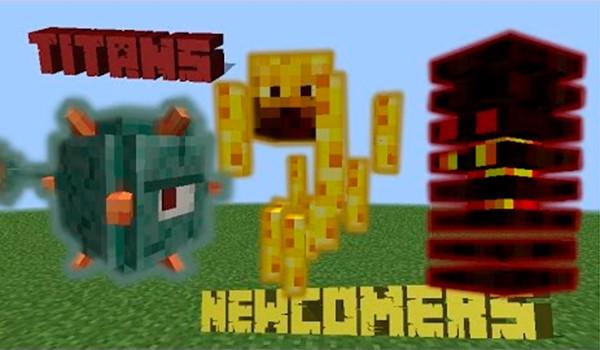 The Titans Mod para Minecraft 1.8-GAMERSRD