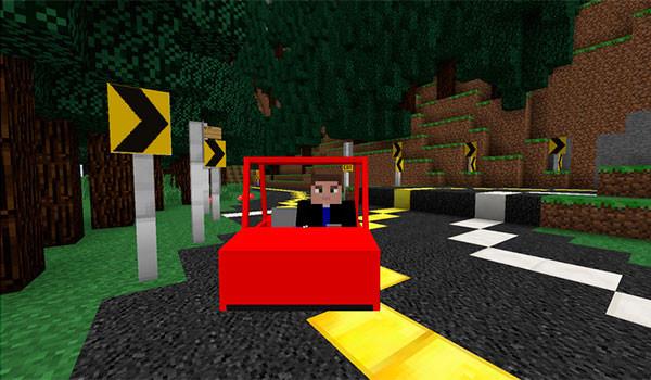 Vehicular Movement Mod para Minecraft -GAMERSRD