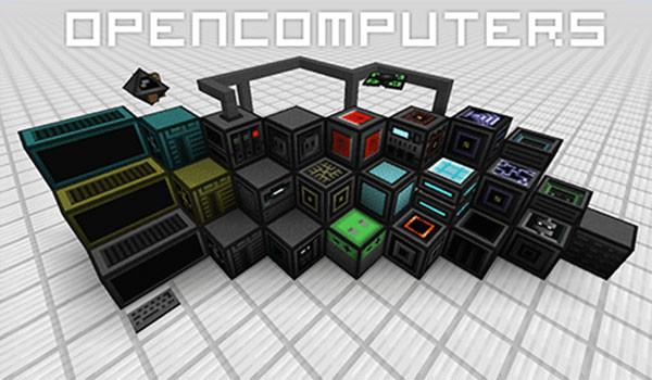 OpenComputers Mod para Minecraft 1.8, 1.8.8 y 1.8.9-GAMERSRD