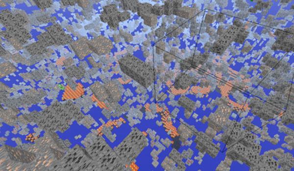 X-Ray Mod para Minecraft 1.8 y 1.8.9-RACCOON KNOWS