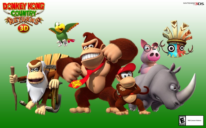 Donkey Kong Country 1 y 2' de Nintendo 3DS-gamersrd
