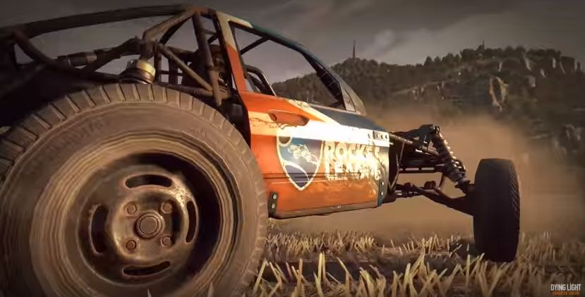 Dying Light y Rocket League-raccoon knows