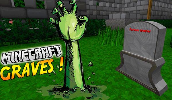 Graves Mod- Minecraft-GAMERSRD
