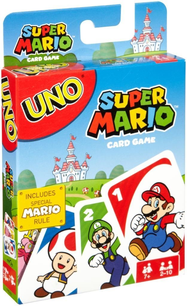 CARTAS-UNO-Mario Bros -GAMERSRD