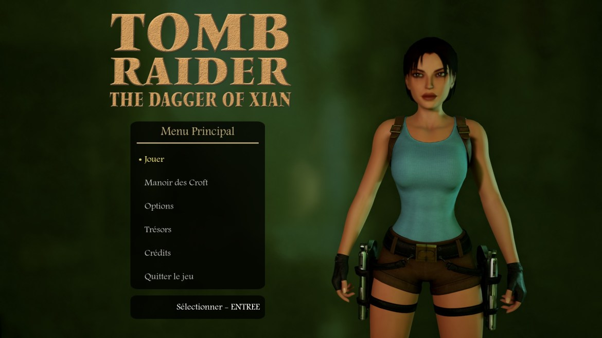 Tomb Raider The Dagger Of Xian Great Wall (WIP)