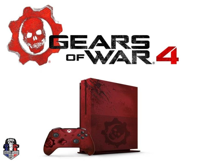 Xbox One S-Gears of War 4 Version-GamersRD