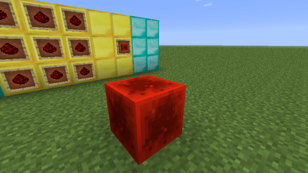 Bloque de redstone minecraft 1.5