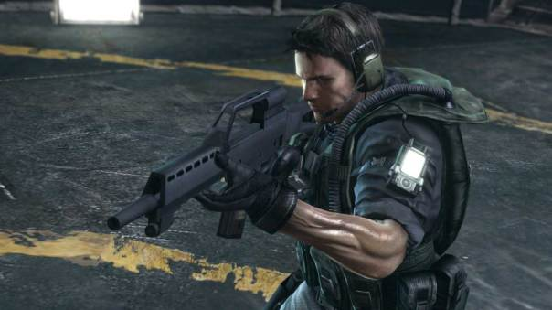 Resident Evil Revelations Chris Redfield