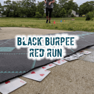 Black Burpee Red Run
