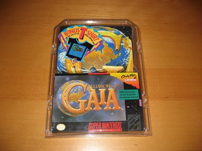 illusion of gaia snes t-shirt sealed