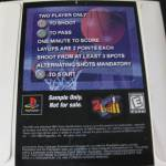 NBA 2 Ball 2ball ps1 playstation 1 b