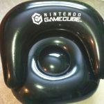 RARE Nintendo Gamecube promo blowup chair