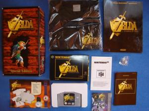 N64 Legend of Zelda Ocarina of Time German Special Edition 4
