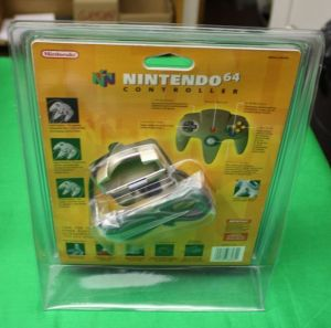 Nintendo 64 Controller Toys R Us Exclusive Gold Controller Sealed Blister 2