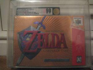 The Legend of Zelda Ocarina of Time Collectors Edition Nintendo 64 VGA 90