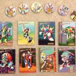 Nintendo Power Mega Man X Trading Cards and Pogs