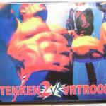Tekken vs VR Troop game for Sega Megadrive Genesis
