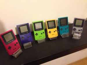 Game Boy Color Console Collection