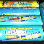 Sonic the Hedgehog Lifesavers - Hot Rings Flavor