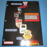 Nintendo Merchandising Souce Book NES SNES Internal Store Display Signs