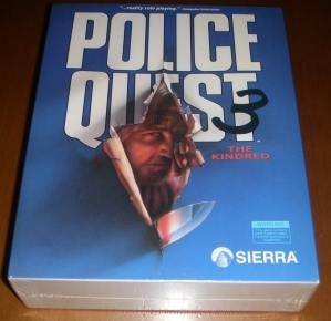 Police Quest III The Kindred Sealed PC
