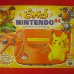 Pikachu Nintendo 64 (orange yellow) Console JP GA