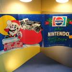 1980s VINTAGE SUPER MARIO 2 NINTENDO PEPSI STORE DISPLAY SIGN